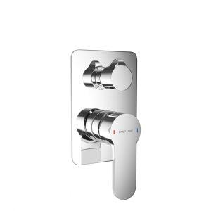 Bateria prysznicowo-wannowa podtynkowa
