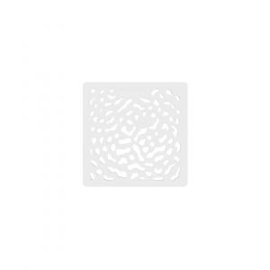Pokrywa brodzika Arda, biała